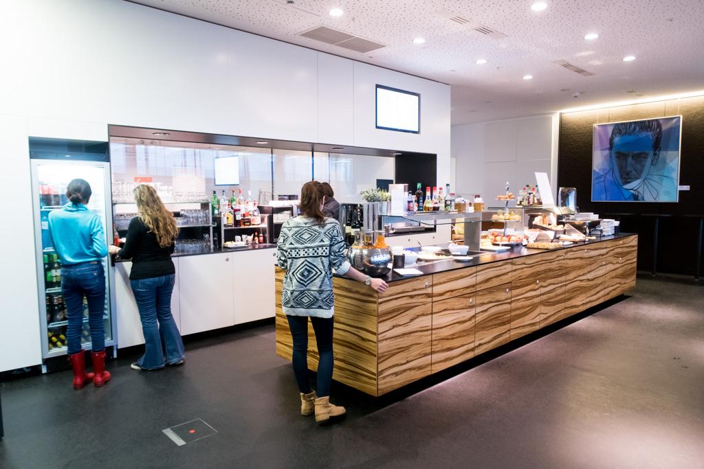 Lounge Review Sky Lounge Schengen At Vienna International
