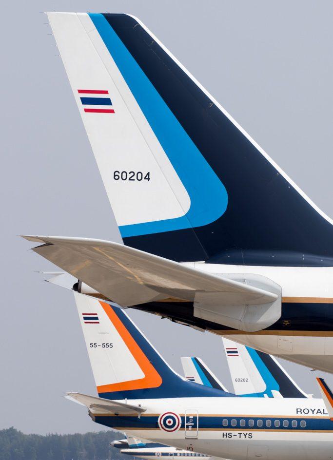 Royal Thai Air Force Airbus A340-500