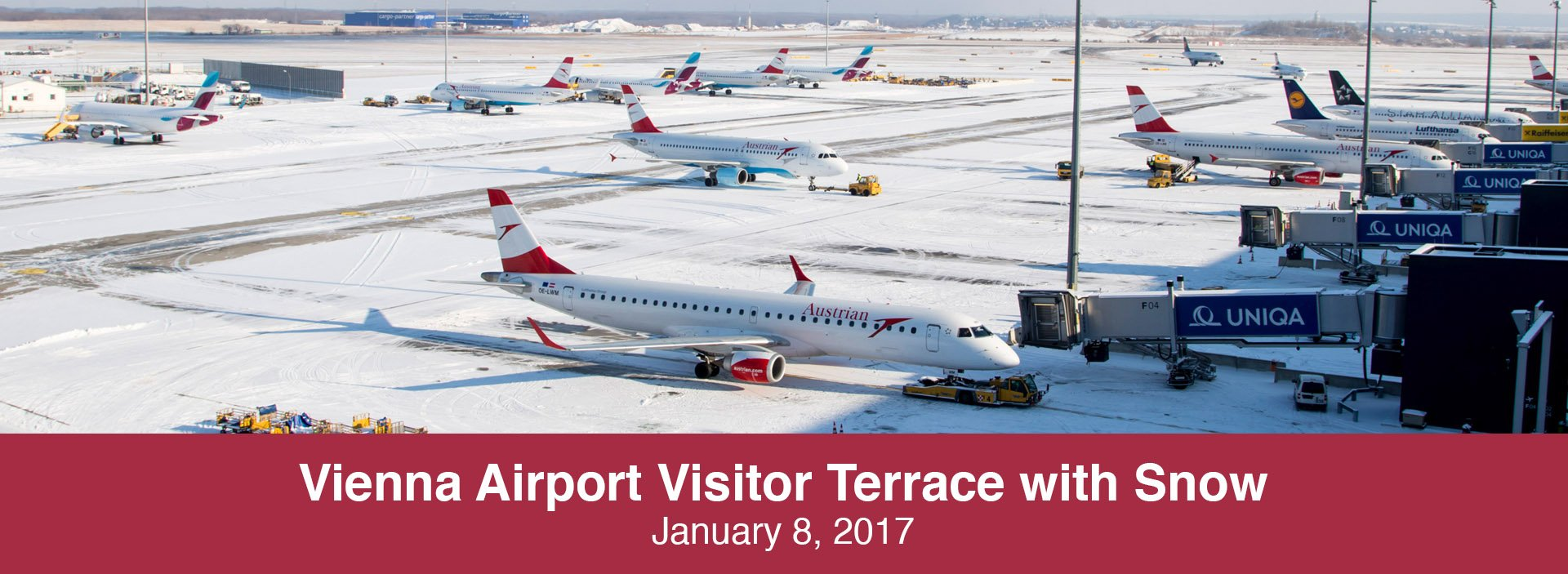 Spotting Report: Vienna Airport Visitor Terrace