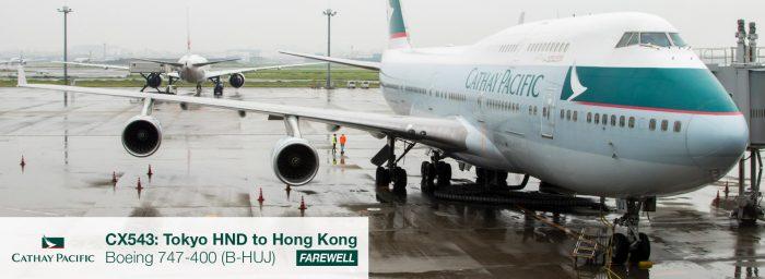 Flight Review: Cathay Pacific Boeing 747-400 Tokyo Haneda to Hong Kong