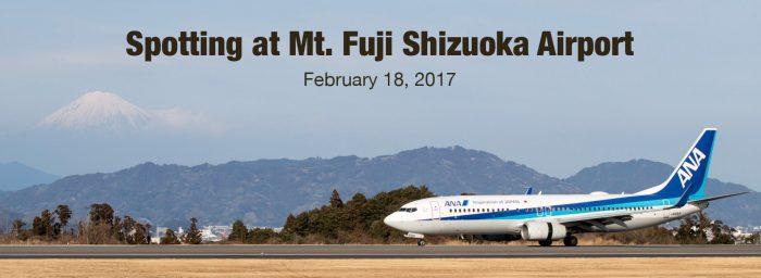 Spotting Report: Mt. Fuji Shizuoka, Japan