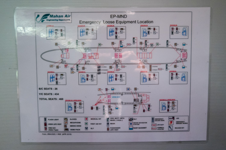 Emergency Equipment Map