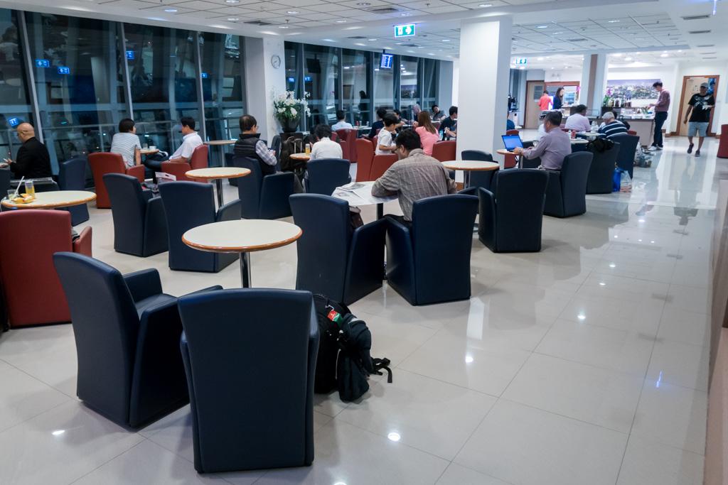 Air France-KLM Lounge at Bangkok Suvarnabhumi