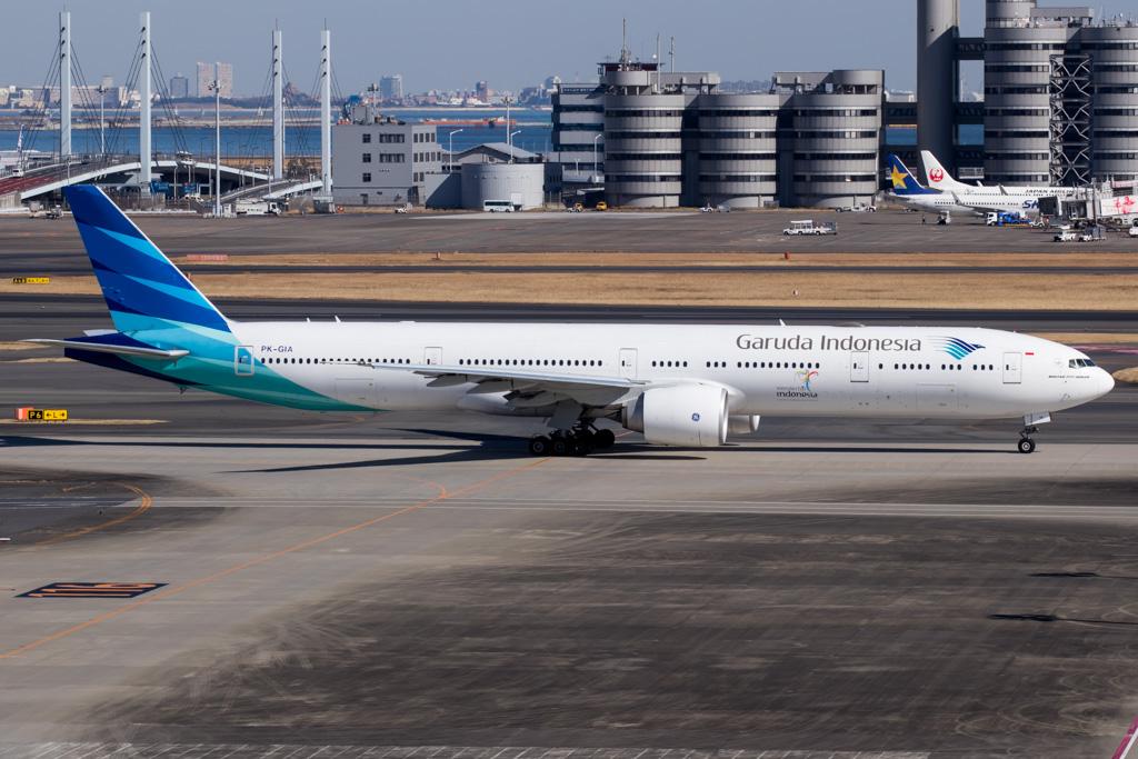 Garuda Indonesia Boeing 777-300