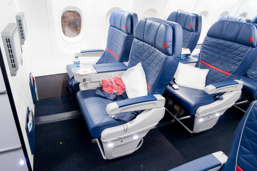 Flight Report: Delta Air Lines 757-200 from Atlanta to Miami in First Class