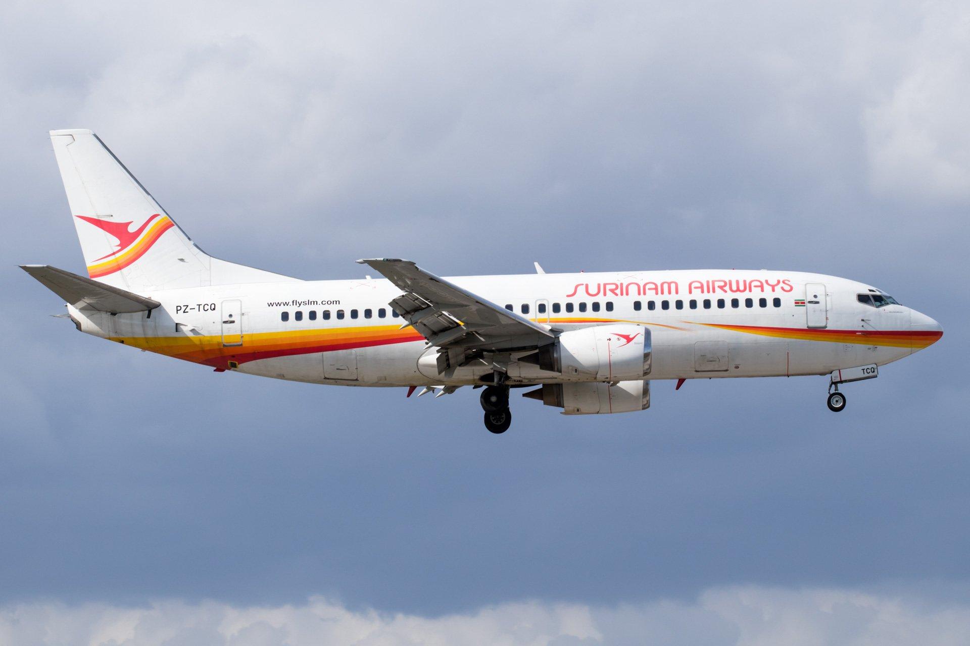 Surinam Airways 737