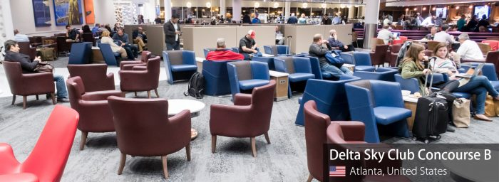 Lounge Review: Delta Sky Club Concourse B at Atlanta Hartsfield