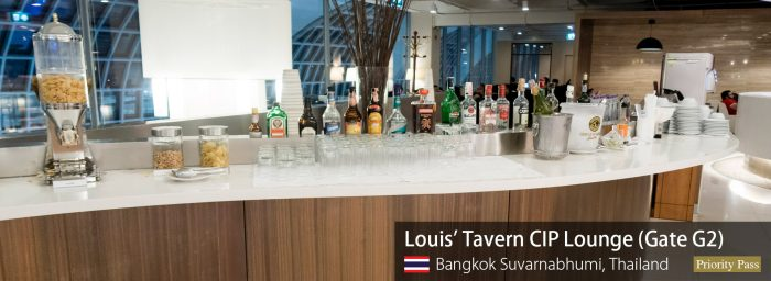 Review: Louis' Tavern CIP Lounge at Bangkok Suvarnabhumi (Priority Pass)