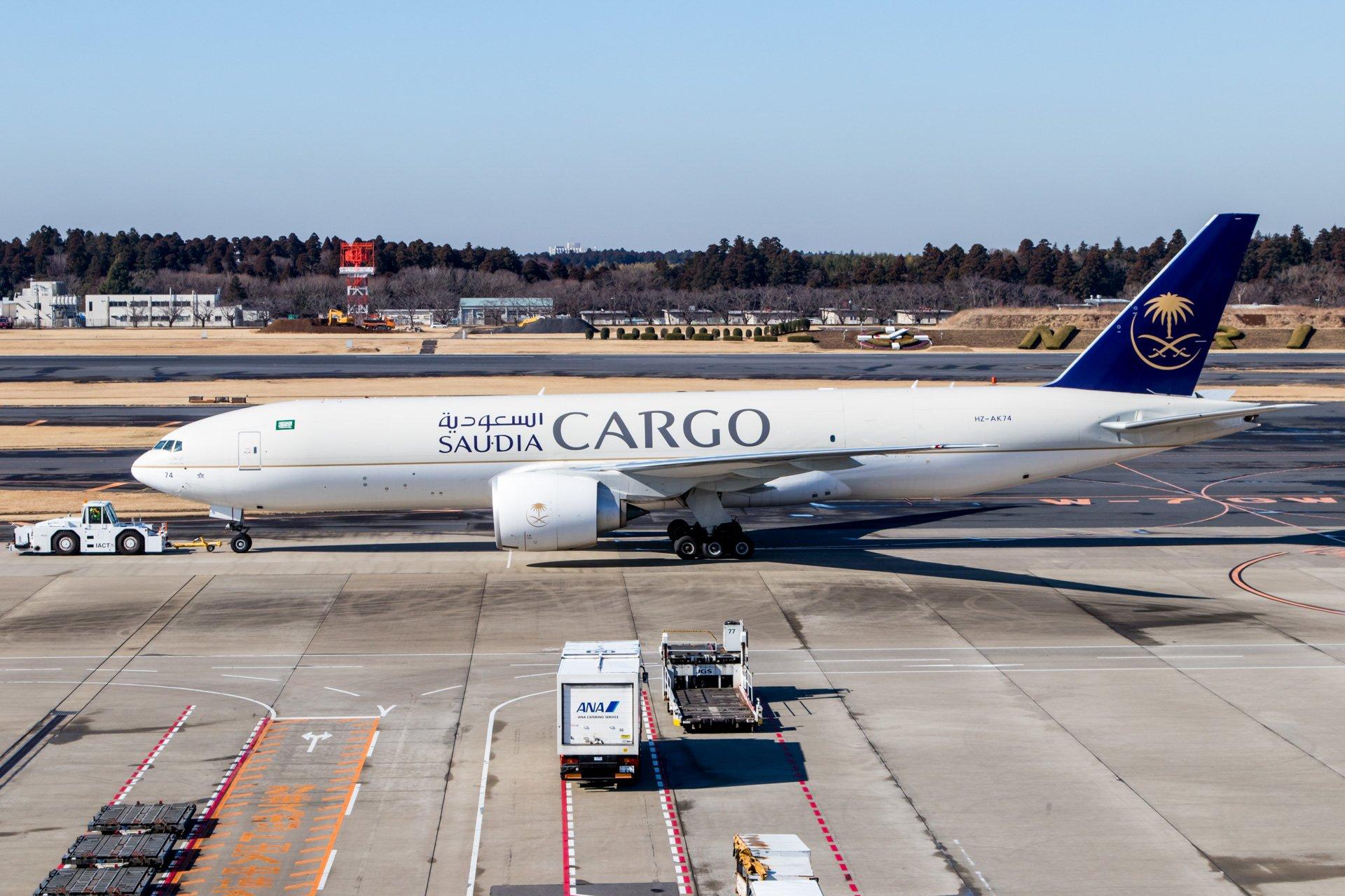 Saudia Cargo 777