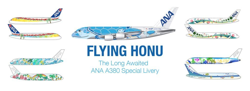 Flying Honu: The Long Awaited ANA A380 Special Livery