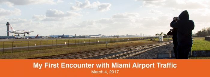 Spotting Report: My First Encounter with Miami Airport Traffic