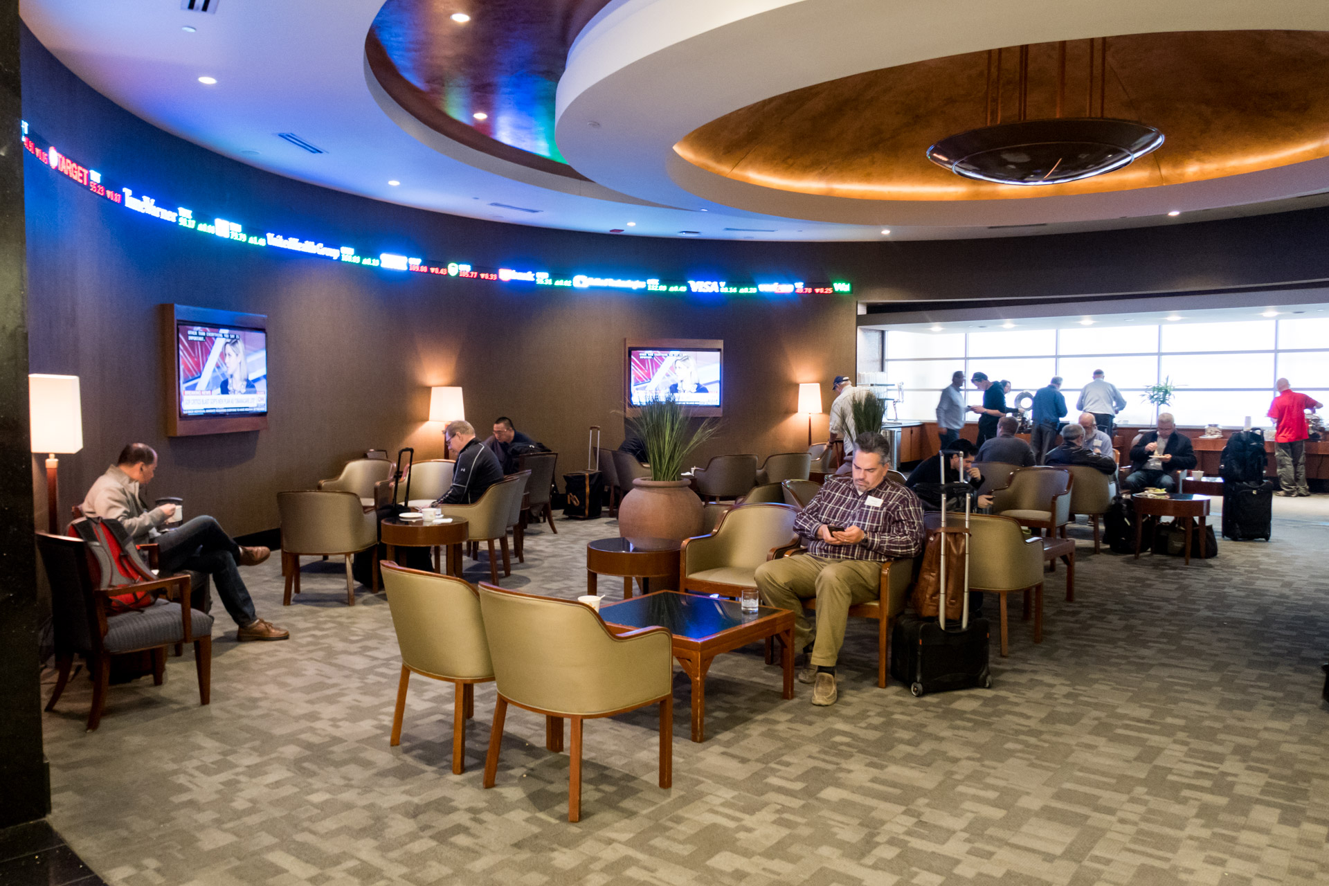 Lounge Review: Delta Sky Club Near Gate A38 at Detroit