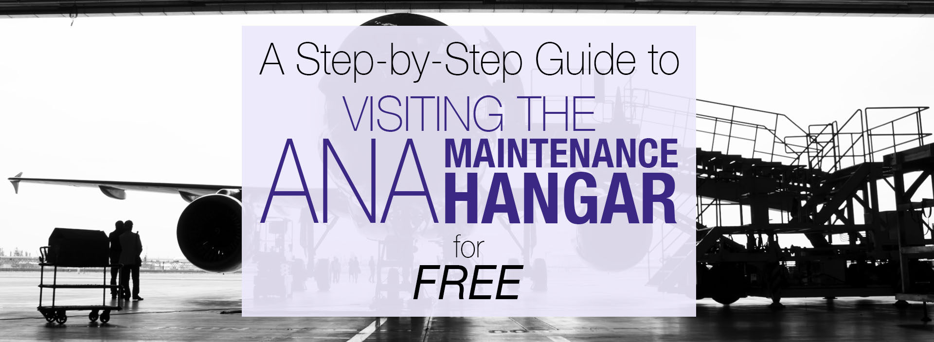 A Step-by-Step Guide to Visiting the ANA Maintenance Hangar for Free