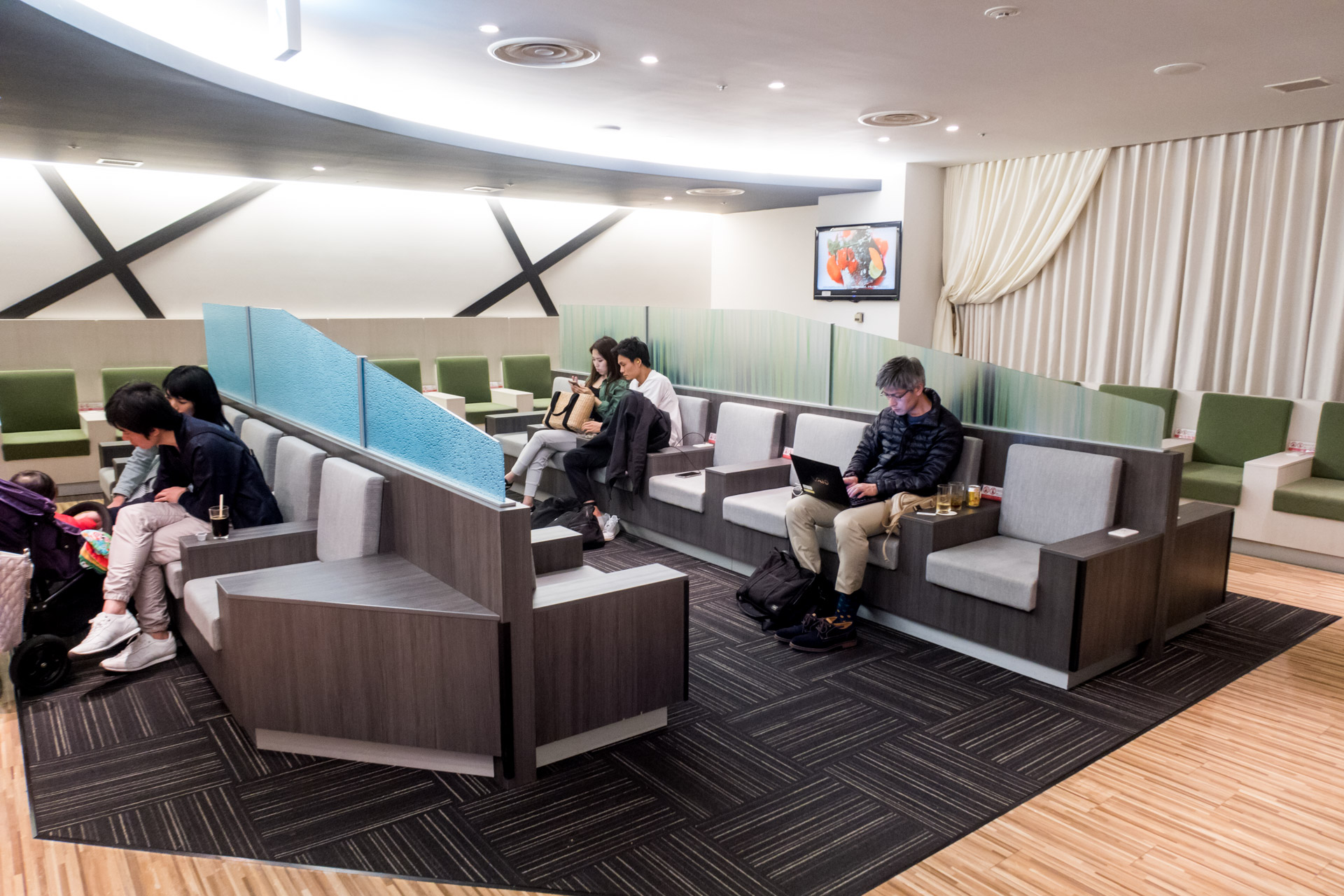 Overview of the IASS Executive Lounge
