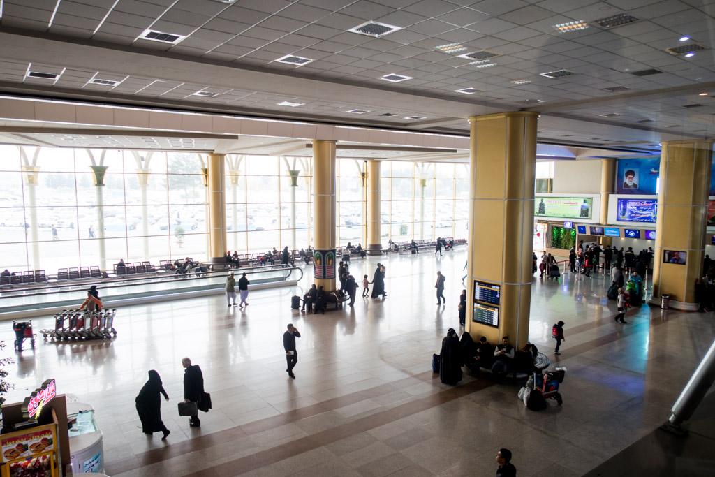 Mashad Airport Terminal