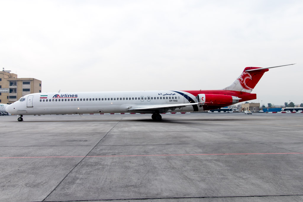 ATA Airlines MD-83