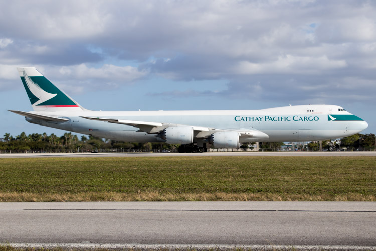 Cathay Pacific Cargo 747-8