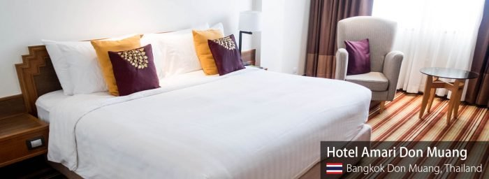 Airport Hotel Review: Amari Don Muang (Bangkok) Dayroom