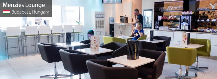 Lounge Review: Menzies Lounge at Budapest F. Liszt