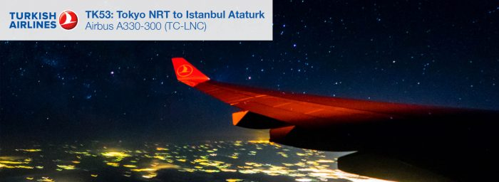 Flight Report: Turkish Airlines A330-300 from Tokyo Narita to Istanbul Ataturk