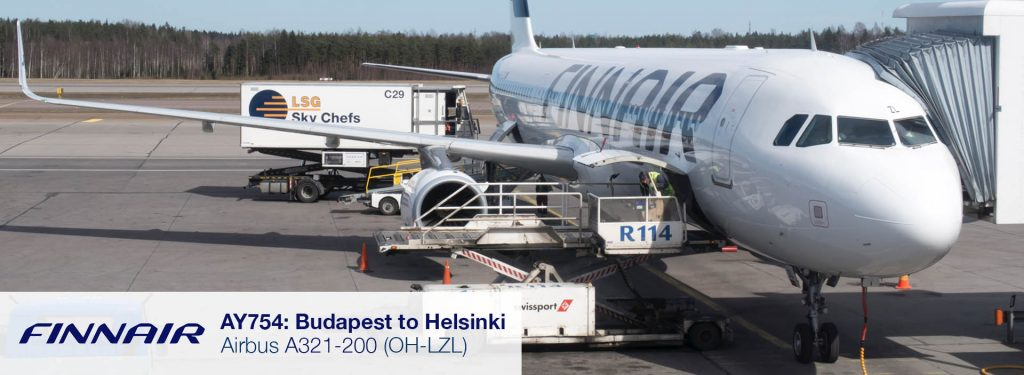 Flight Report: Finnair A321 from Budapest to Helsinki