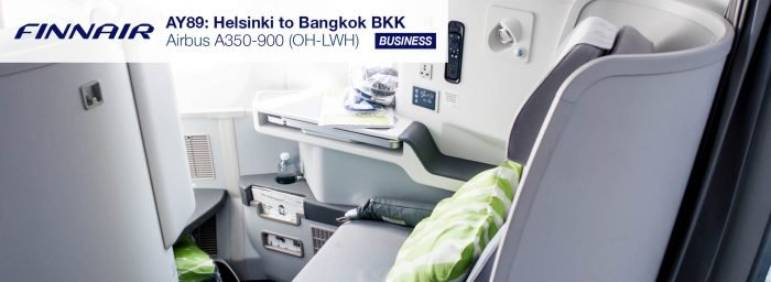 Flight Report: Finnair A350-900 from Helsinki to Bangkok in Business Class