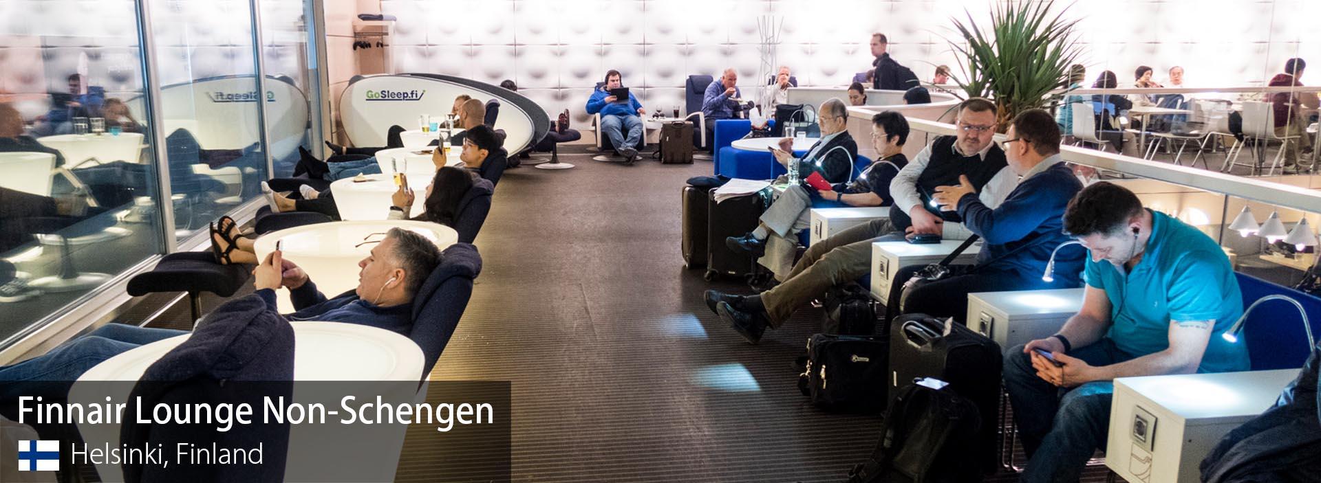 Lounge Review: Finnair Lounge Non-Schengen at Helsinki Vantaa