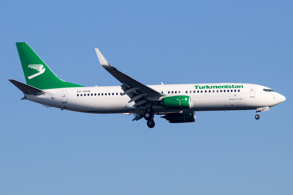 Turkmenistan Airlines 737-800