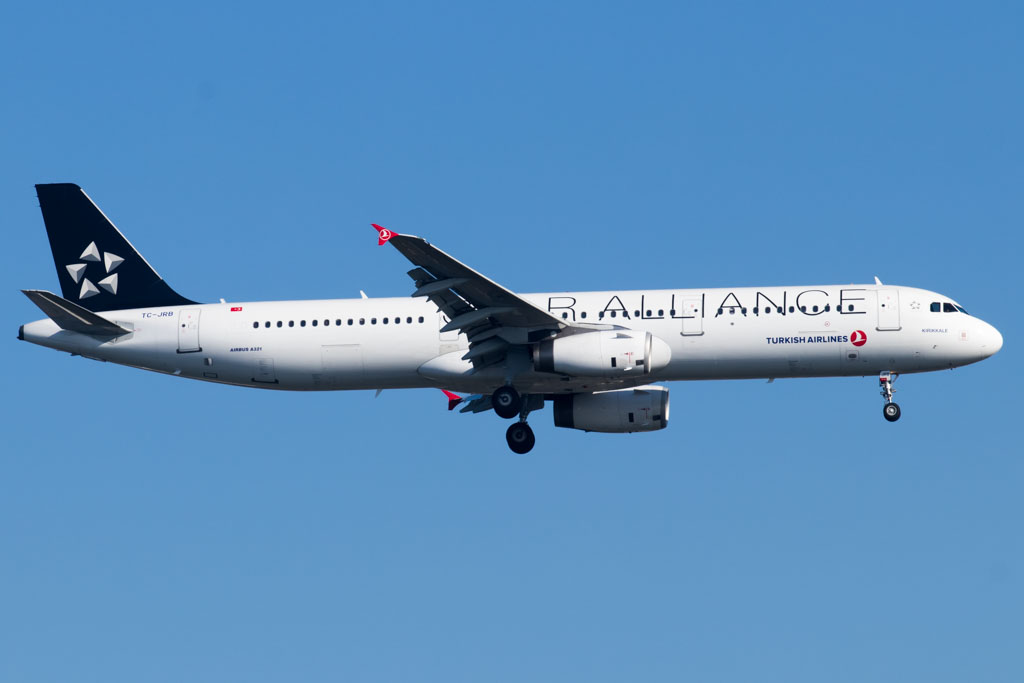 Turkish Airlines A321 Star Alliance