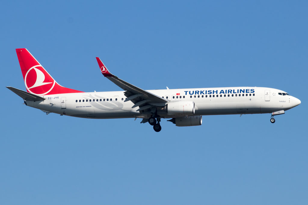 Turkish Airlines 737-800