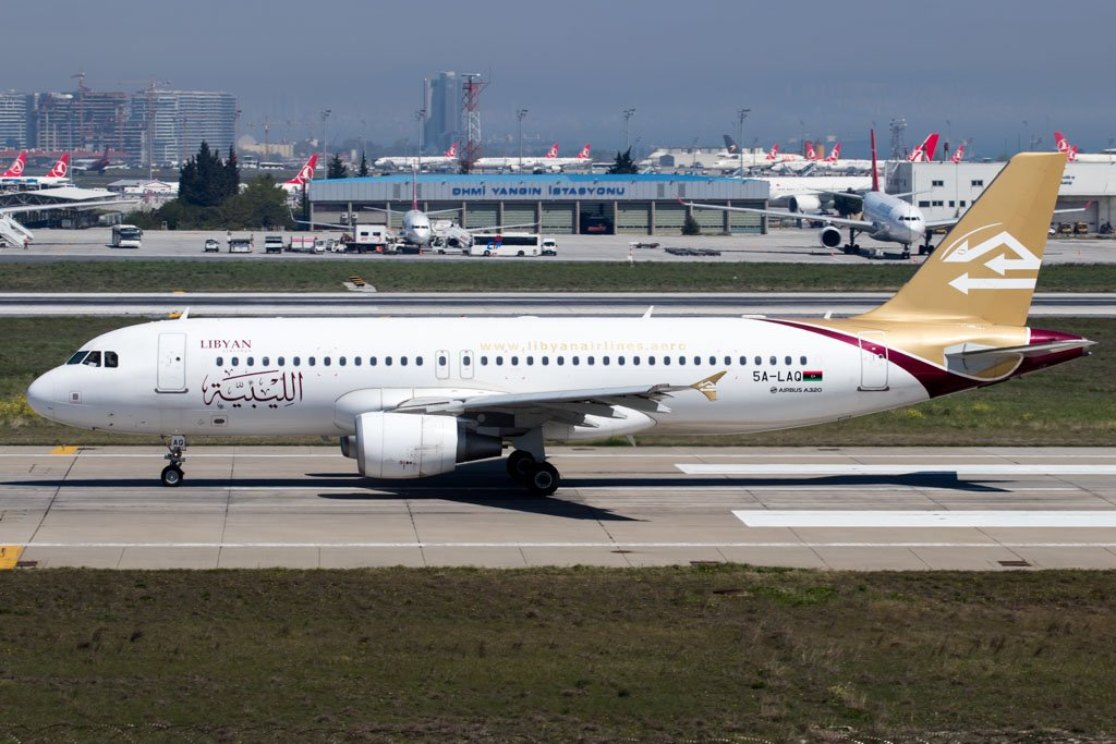 Libyan Airlines A320