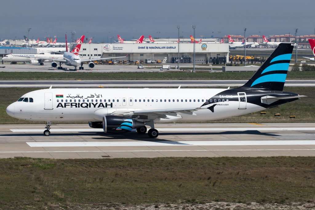 Afriqiyah Airways A320
