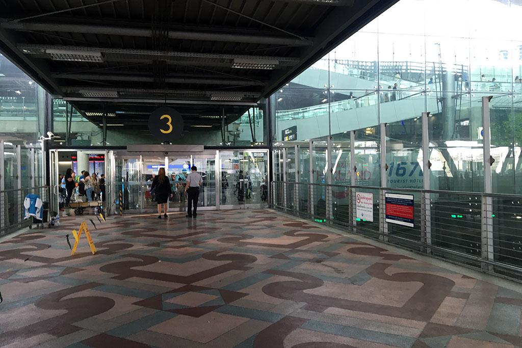Suvarnabhumi Airport Exit 3