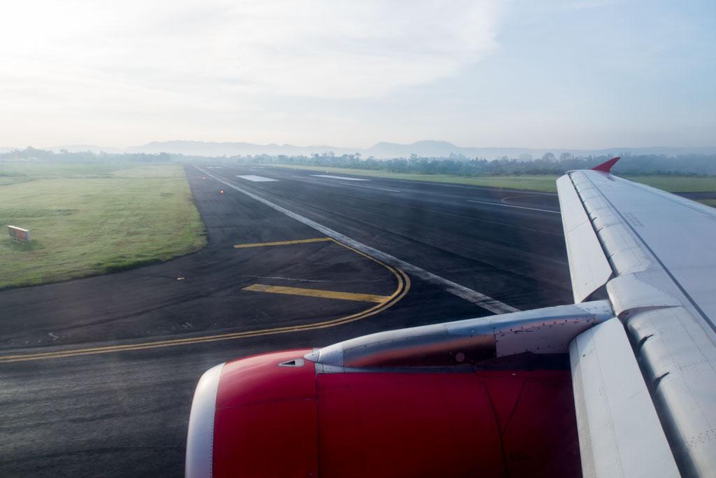 Vacating Yogyakarta Runway