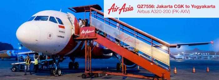 Flight Report: Indonesia AirAsia A320 from Jakarta CGK to Yogyakarta