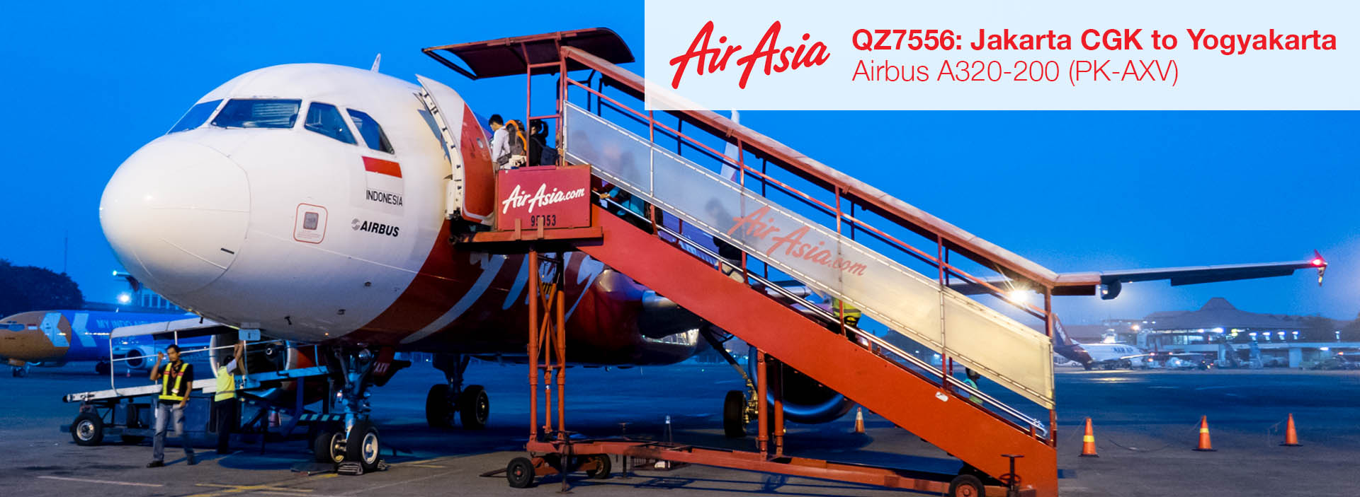 Flight Report Indonesia Airasia A320 From Jakarta Cgk To