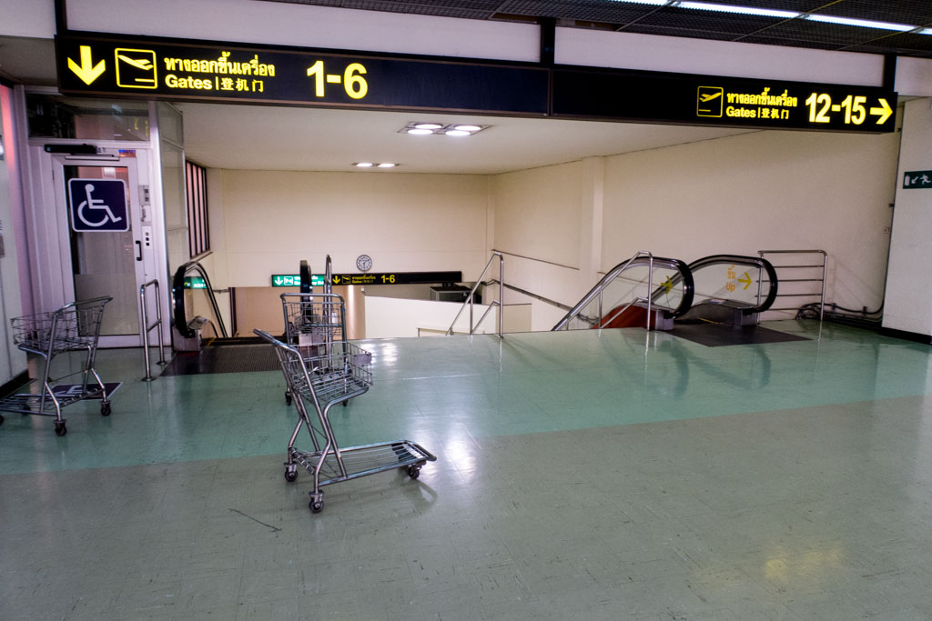 Don Muang Airport Airside