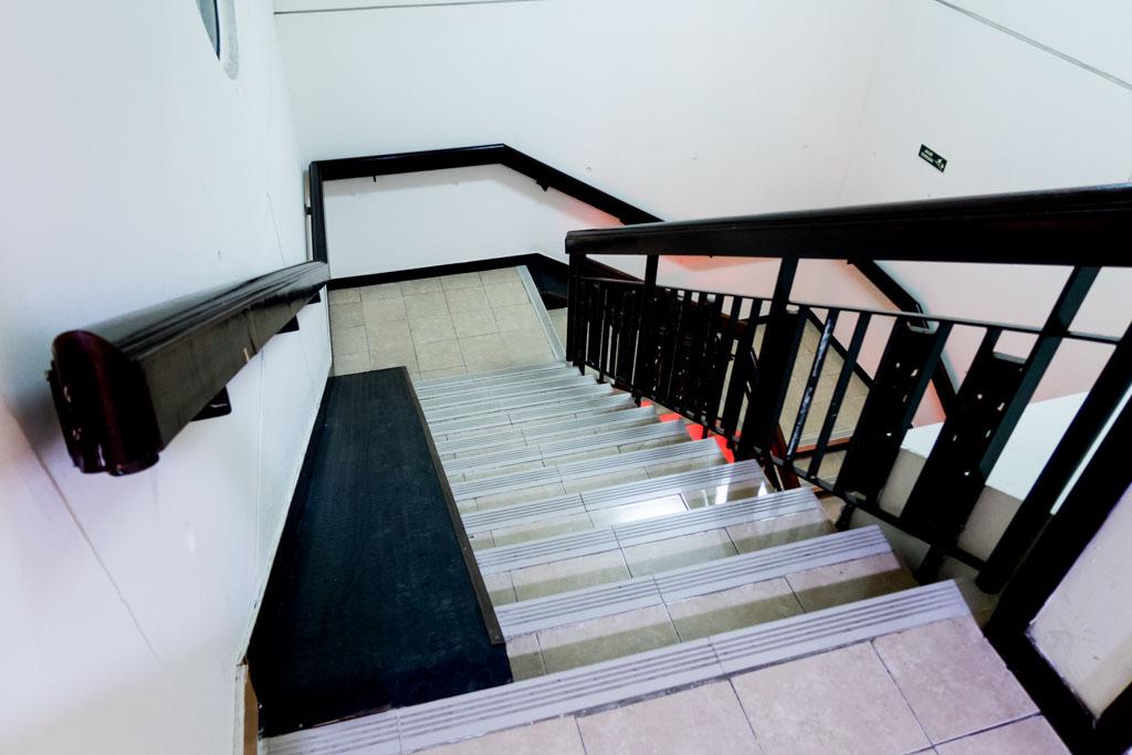 d'Prima Jakarta Airport Stairs