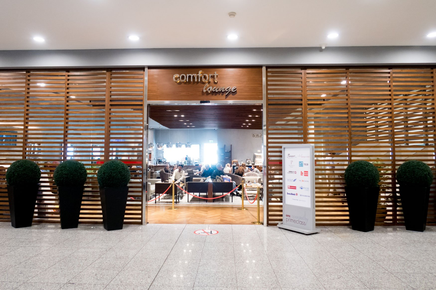 Comfort Lounge Istanbul Entrance