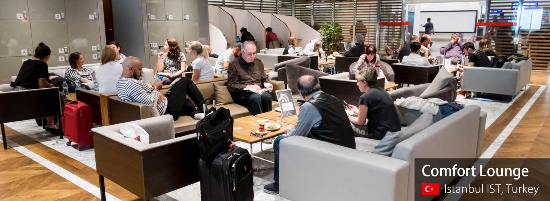 Lounge Review: Comfort Lounge at Istanbul Ataturk