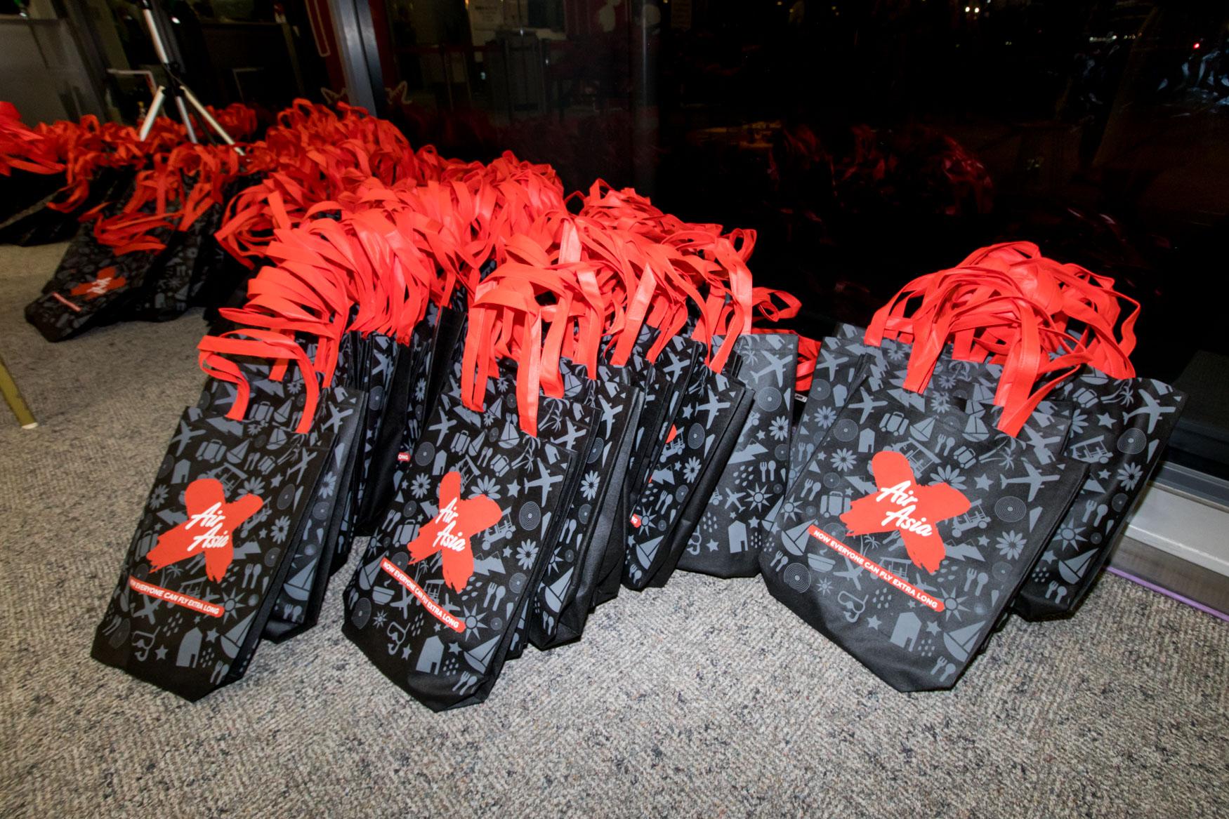AirAsia X Inaugural Gift Bag
