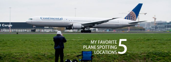 Five of My Favorite Plane Spotting Locations Around the World