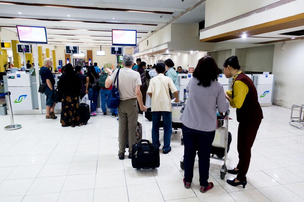 Garuda Indonesia Check-in