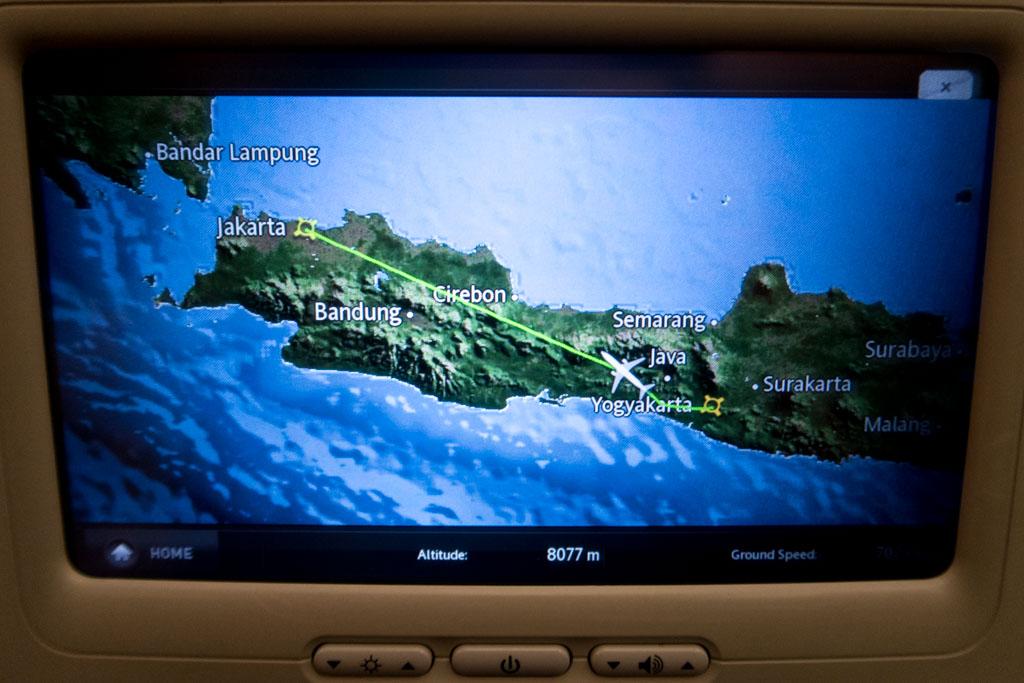 Garuda Indonesia IFE Airshow