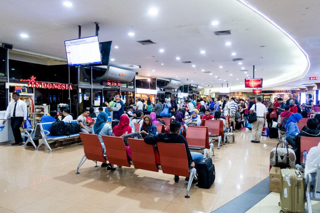 Crowded Airside at Yogyakarta Airport