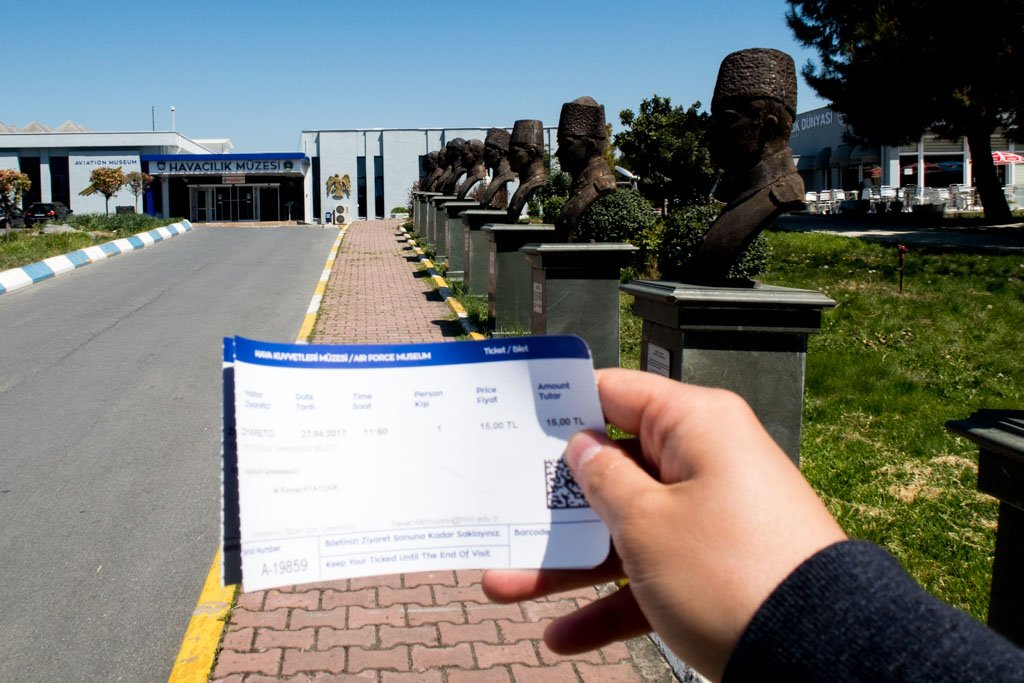 Istanbul Aviation Museum Ticket