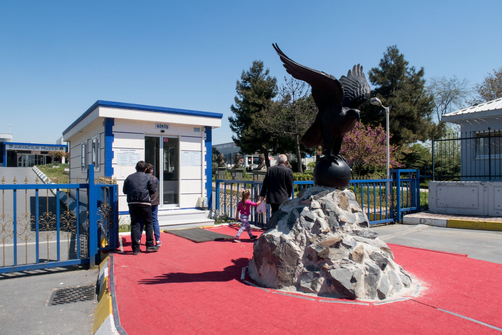Istanbul Aviation Museum Entrance