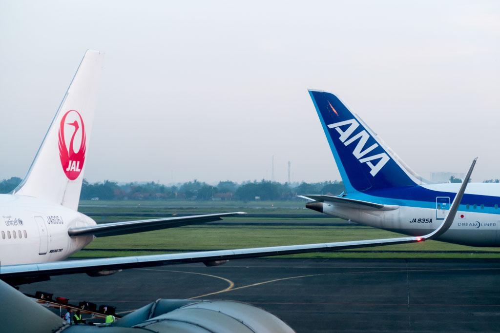 ANA 787 & JAL 767