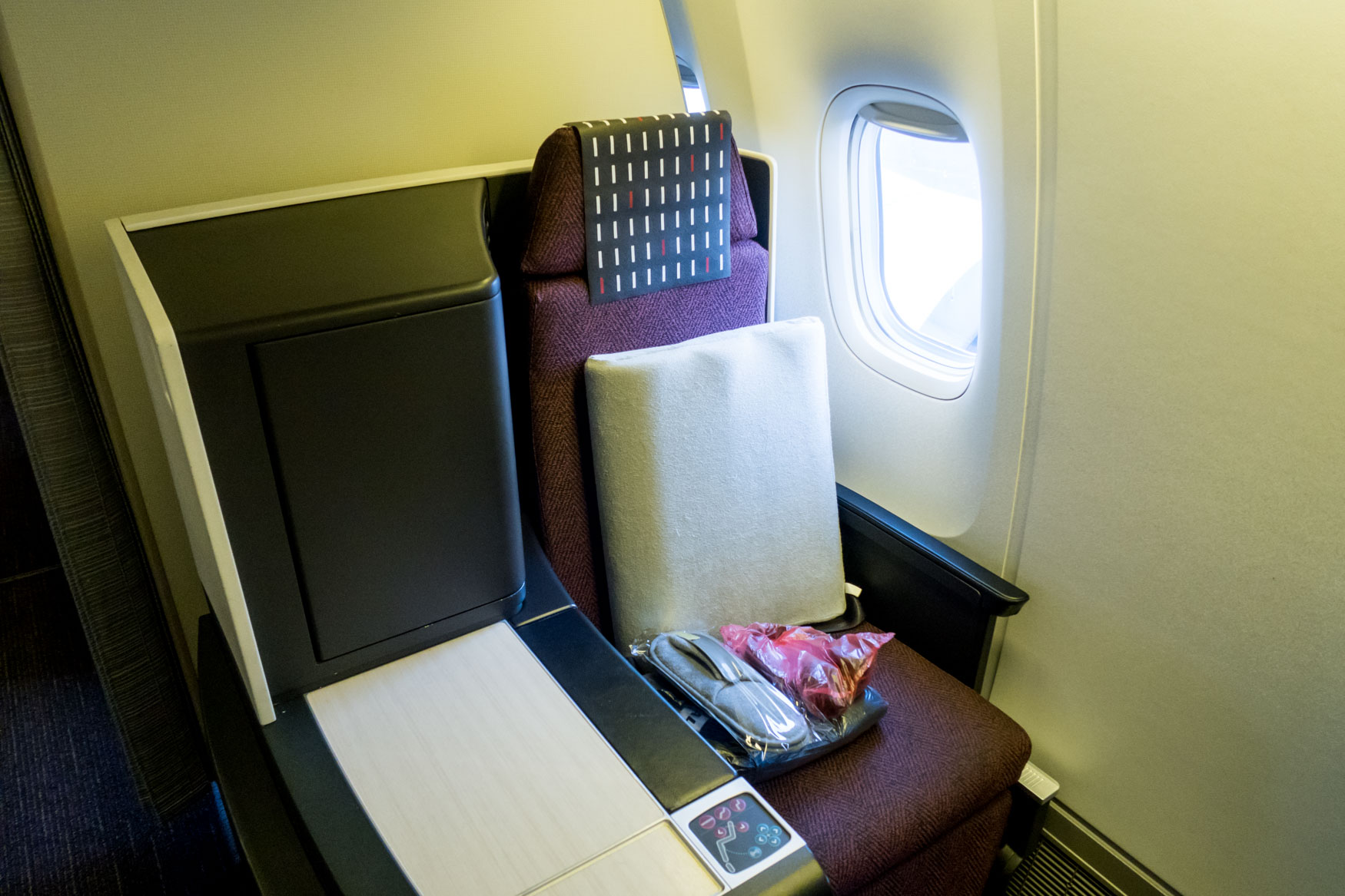 JAL Japan Airlines 767-300ER SKY SUITE II Seat