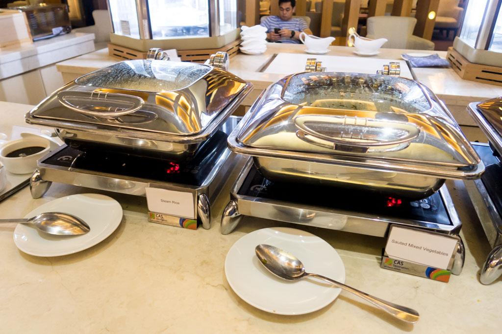 Premier Lounge Jakarta Hot Meals